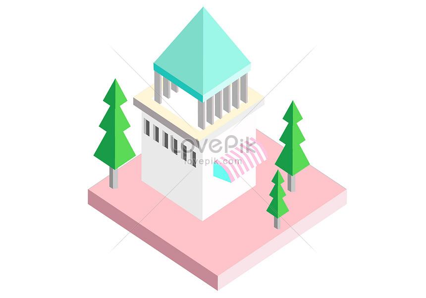 かわいい家イラストイメージ 図 Id Prf画像フォーマットai Jp Lovepik Com