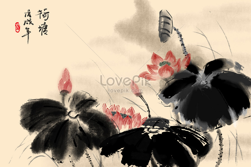 chinese painting and ink painting