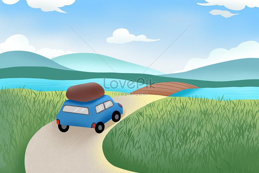 เดินทางโดยรถยนต์เพื่อเดินทาง