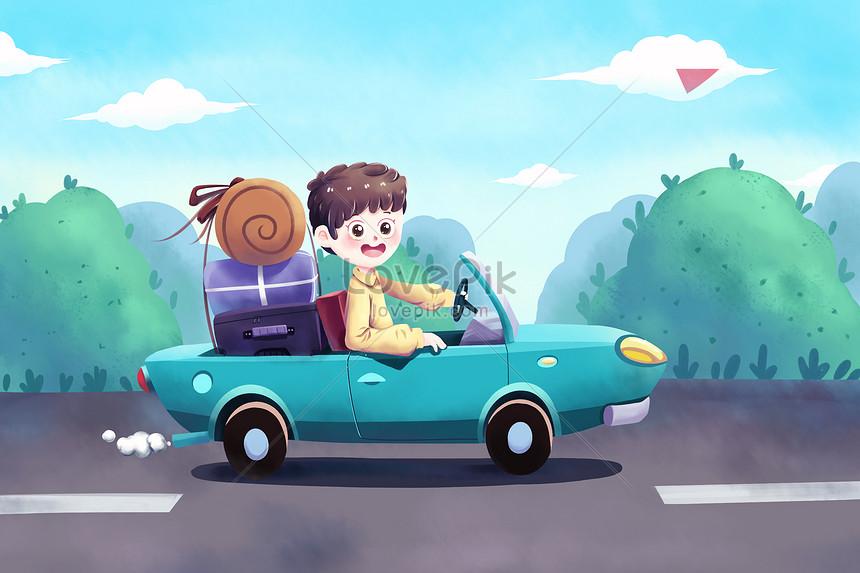 เดินทางโดยรถยนต์