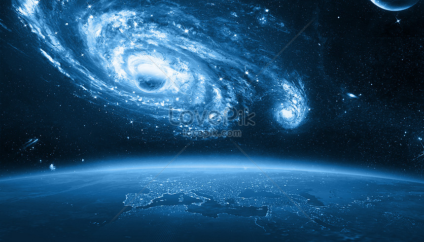 Space Universe Science Fiction Planet Background Creative Image Picture Free Download 400225900 Lovepik Com