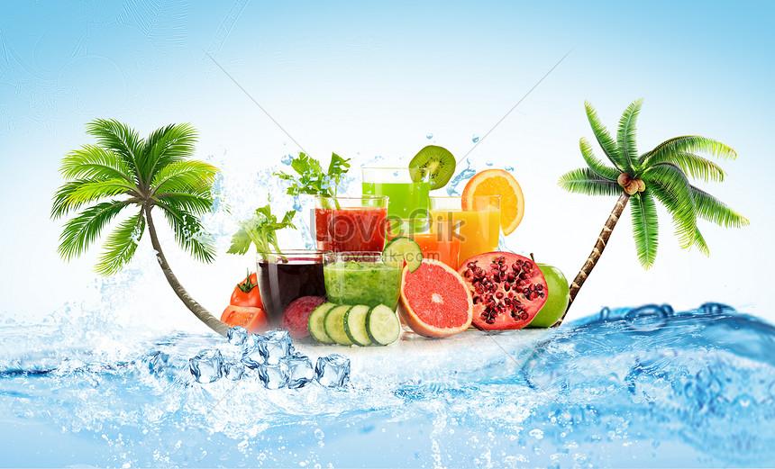 summer juice background