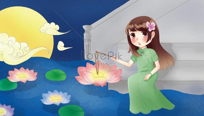中元節 放花燈