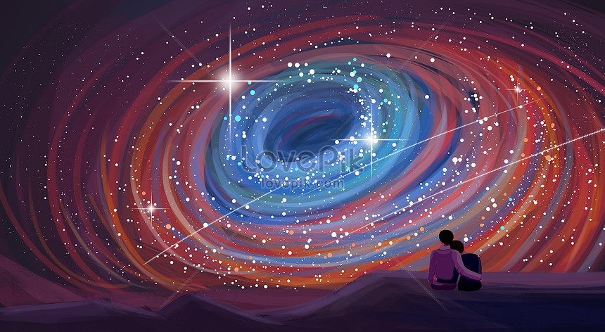 couple sous les étoiles