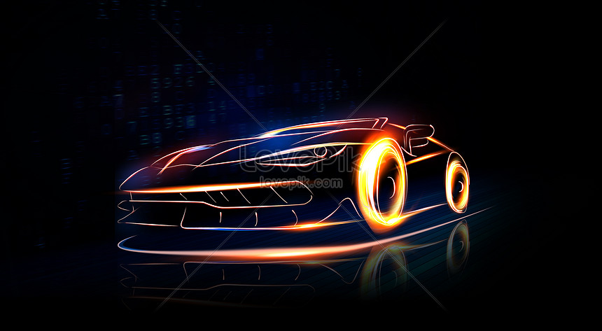 Bright And Cool Sports Car Creative Image Picture Free Download 400293104 Lovepik Com