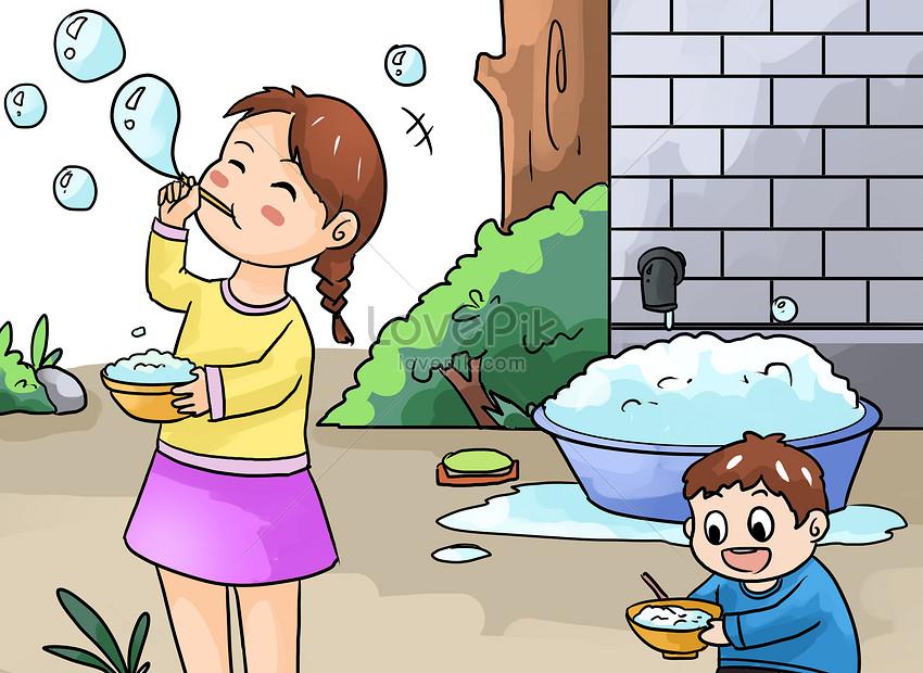 Lovepik صورة Psd 400307060 Id توضيح بحث صور ذكريات الطفولة