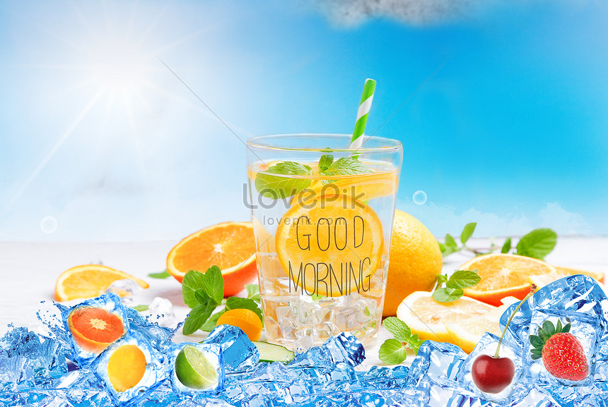 chilled drinks in summer