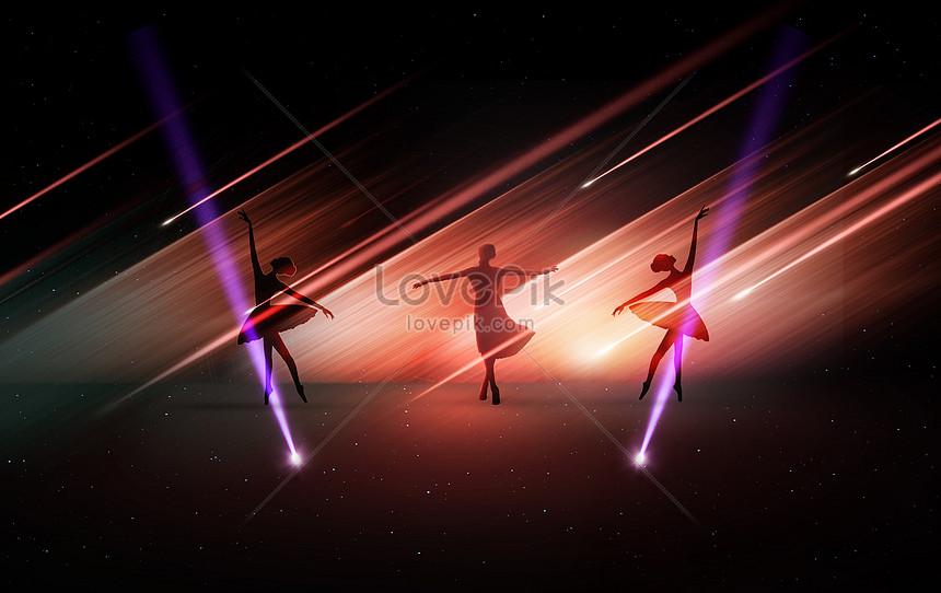 bailar bajo la luz