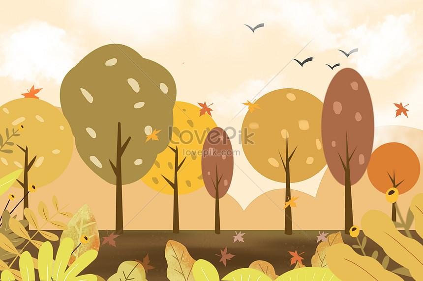fall in autumn