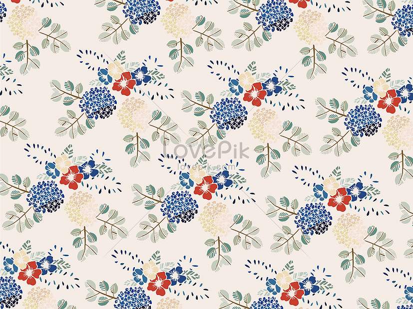 small fresh flowers background