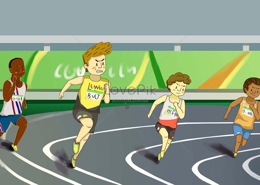 Asian Games Larawan Numero Ng Ilustrasyon 400475250 Format