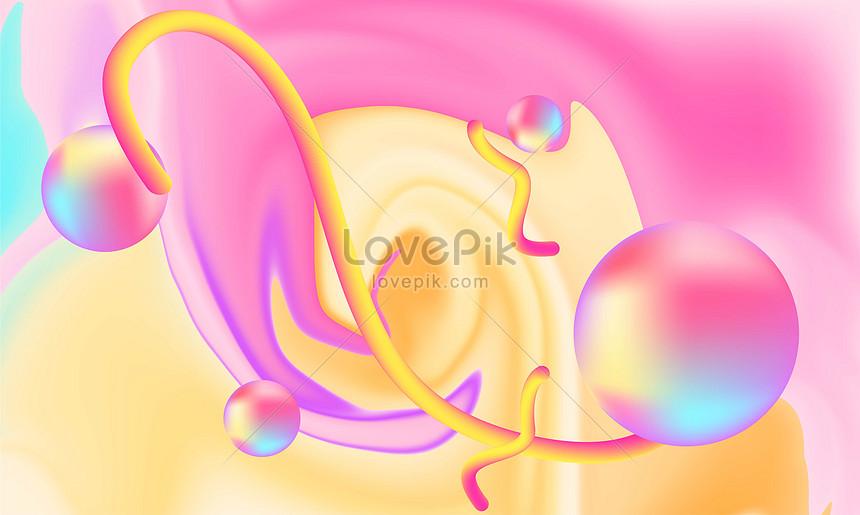 gradual change of liquid fluid background