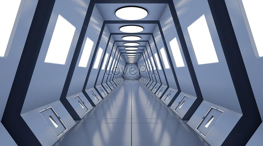 科幻空間通道