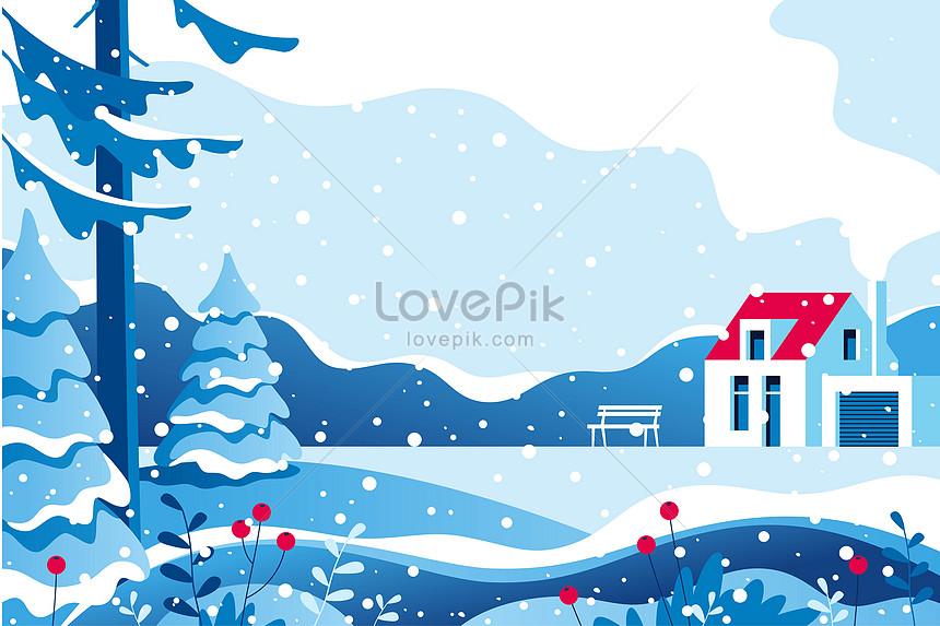 冬の美しい風景イラストイメージ図 Id 400951147prf画像フォーマット