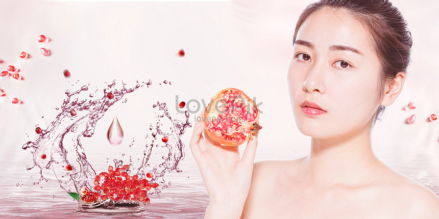 pomegranate moisturizing and skin care