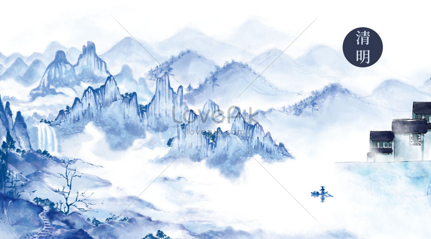 qingming mountains and waters