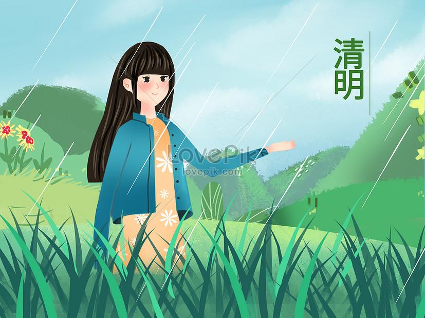 illustration of qingming festival