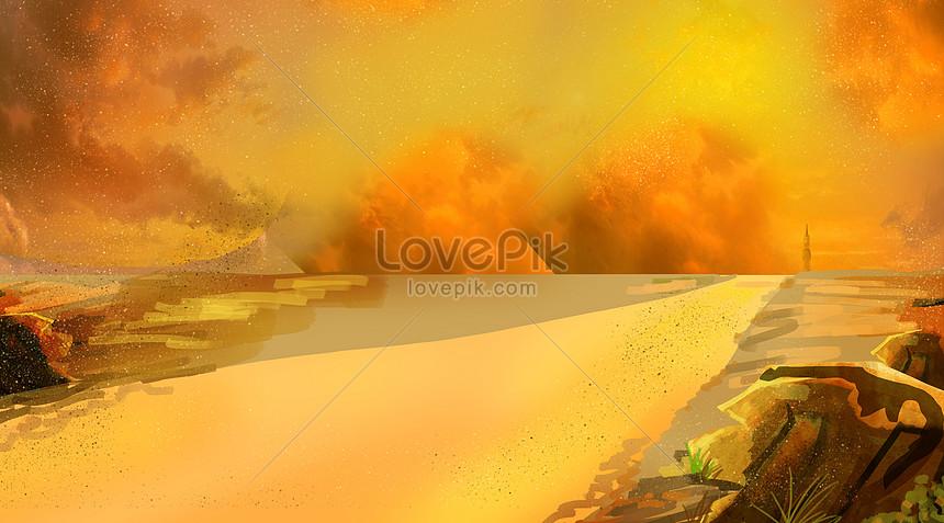 Latar Belakang Lanskap Yang Indah Gambar Unduh Gratis Kreatif 401081583 Format Gambar Psd Lovepik Com