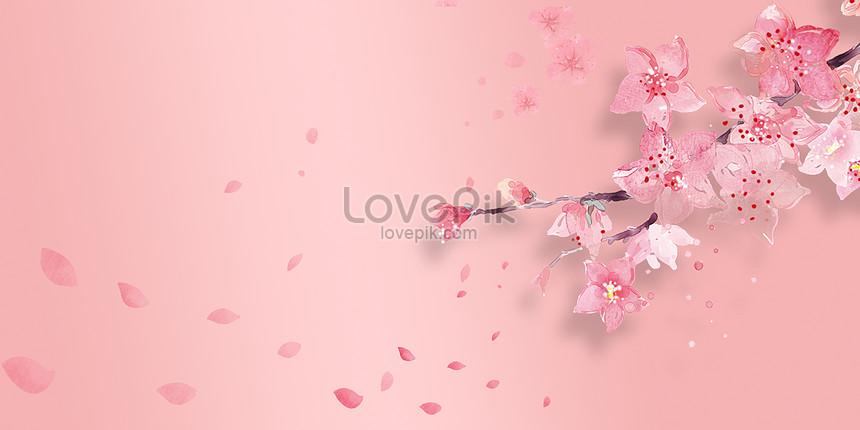 Latar Belakang Bunga Sakura Yang Indah Gambar Unduh Gratis Kreatif 401088648 Format Gambar Psd Lovepik Com