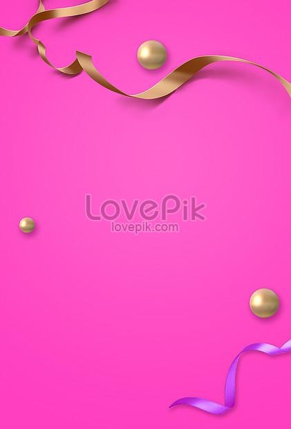 pink festival background