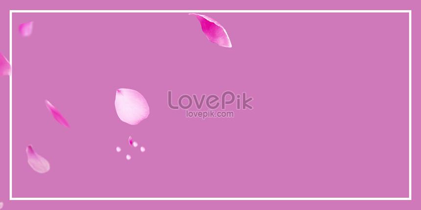 pink petal background