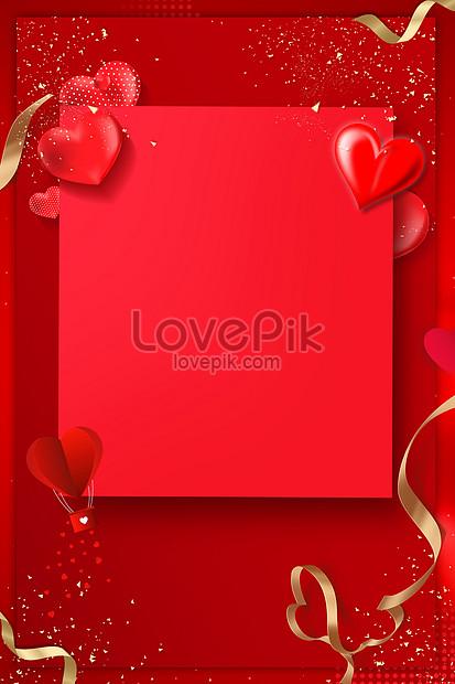 fondo rojo amor