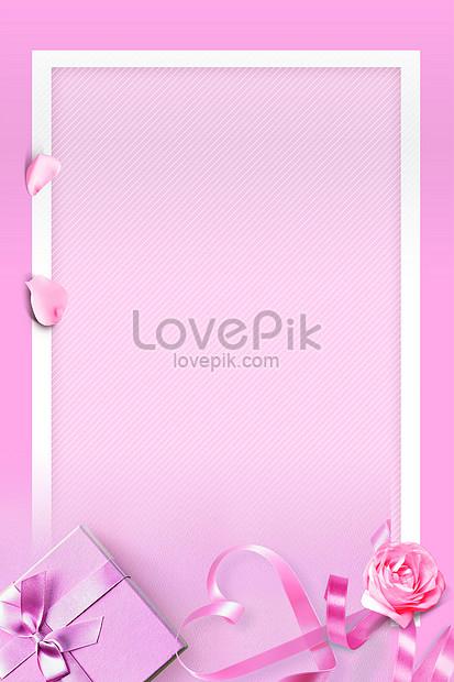 pink flower petals background
