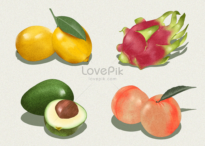frutas ilustração