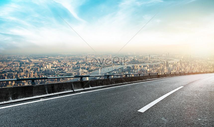 Latar Belakang Jalan Raya Kota Gambar Unduh Gratis_ Kreatif  401267556_Format Gambar PSD_lovepik.com