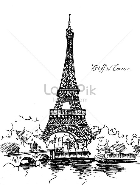 Menara Eiffel Gambar Unduh Gratis Imej 401286796 Format Psd My Lovepik Com