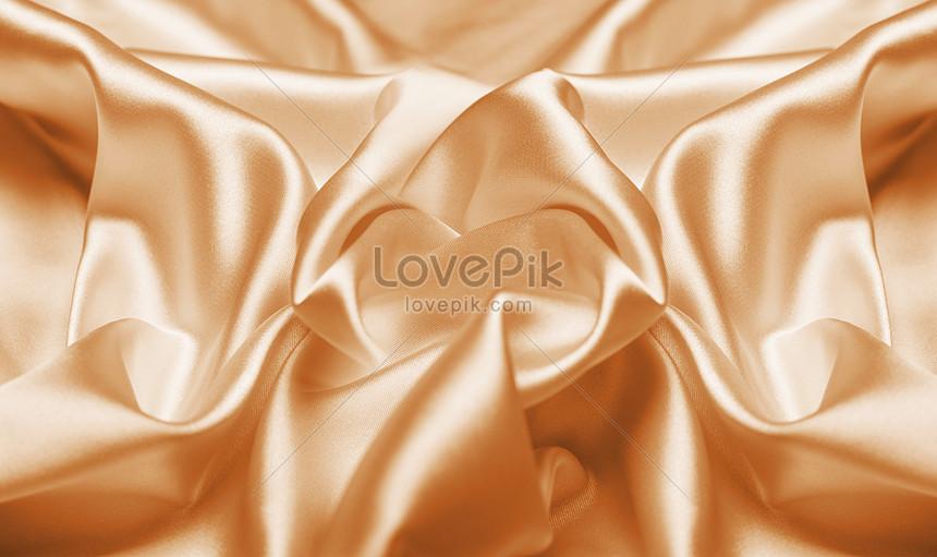 金色絲綢背景