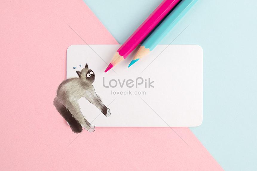 Unduh 95+  Gambar Kucing Pensil Imut HD