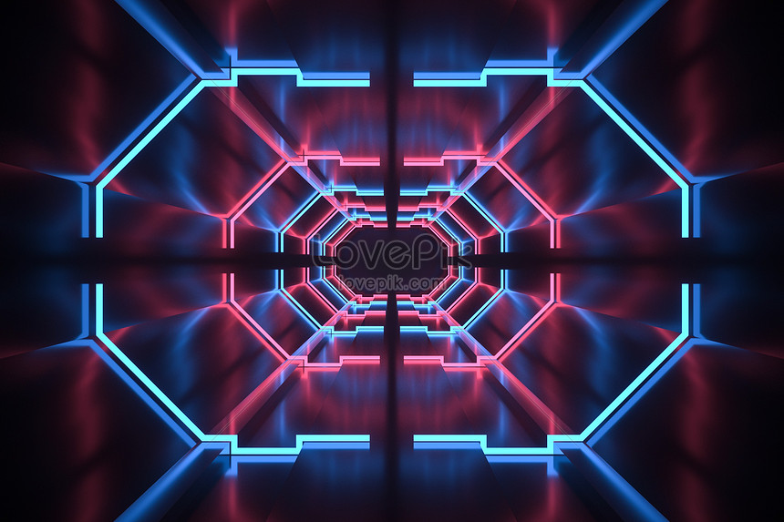 Cool Neon Channel Creative Image Picture Free Download 401378575 Lovepik Com