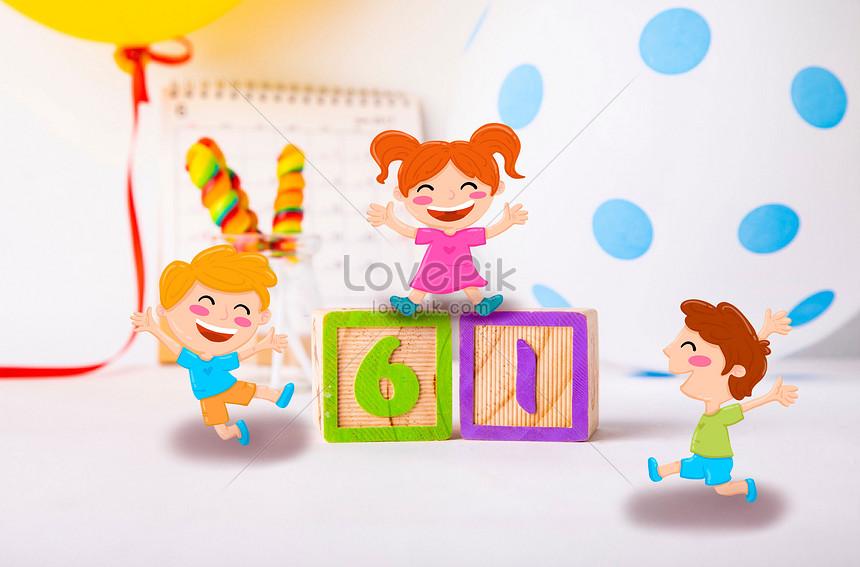 happy children on childrens day