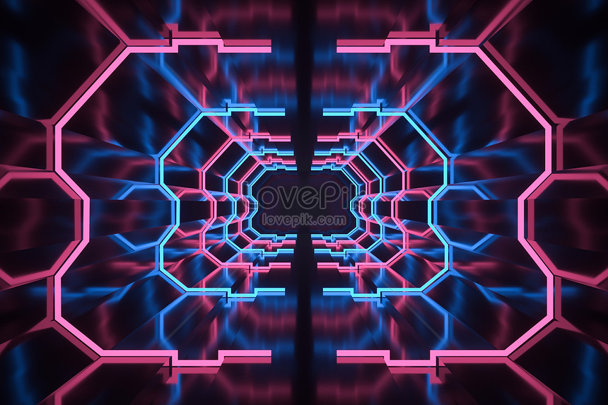 3d Cool Neon Channel Background Creative Image Picture Free Download 401389811 Lovepik Com