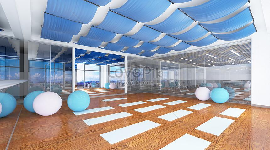 Gym Scene Creative Image Picture Free Download 401394261 Lovepik Com