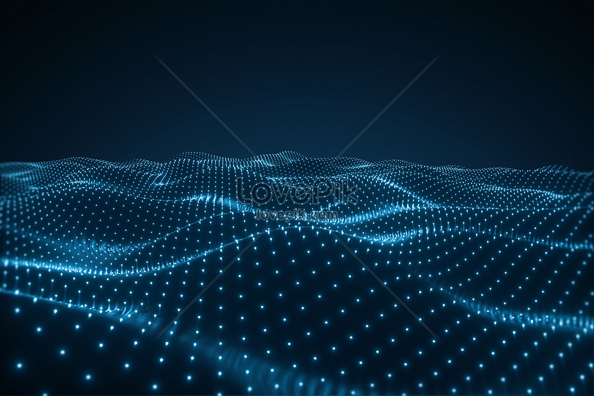 3d technology particle space background creative image_picture ...