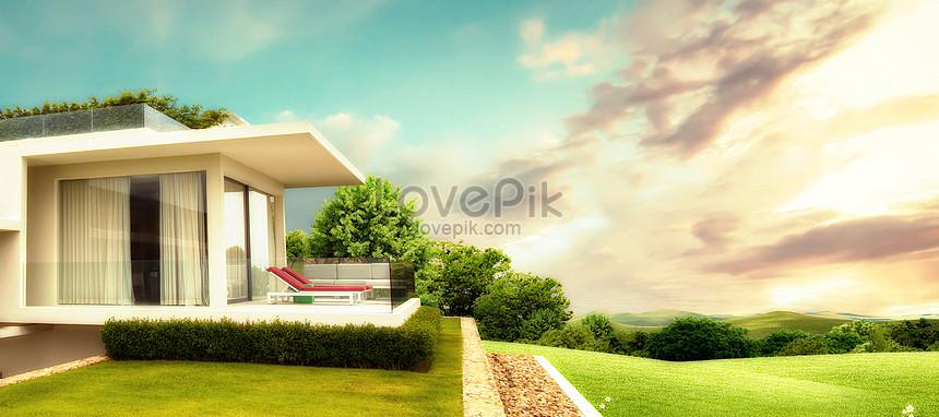 real estate poster background