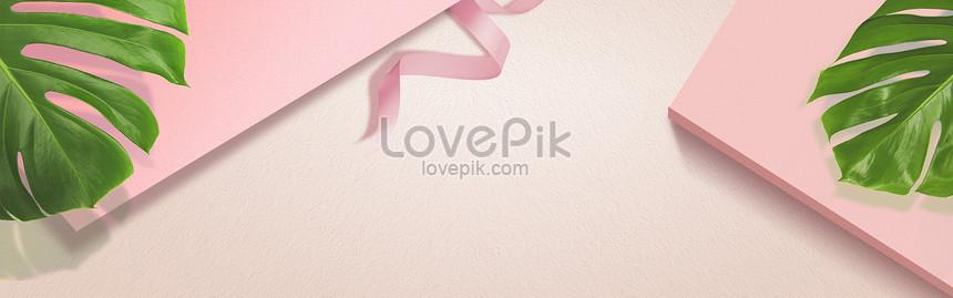 fresh pink background