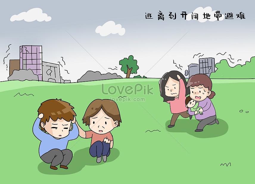 避難 地震