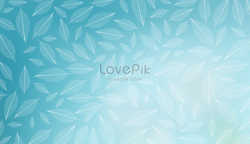 small fresh leaves background
