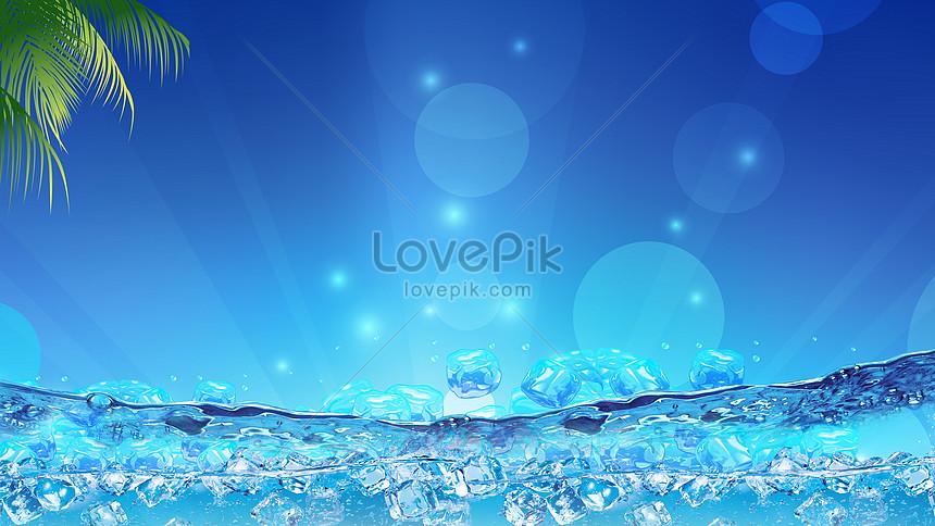 sfondo blu estate