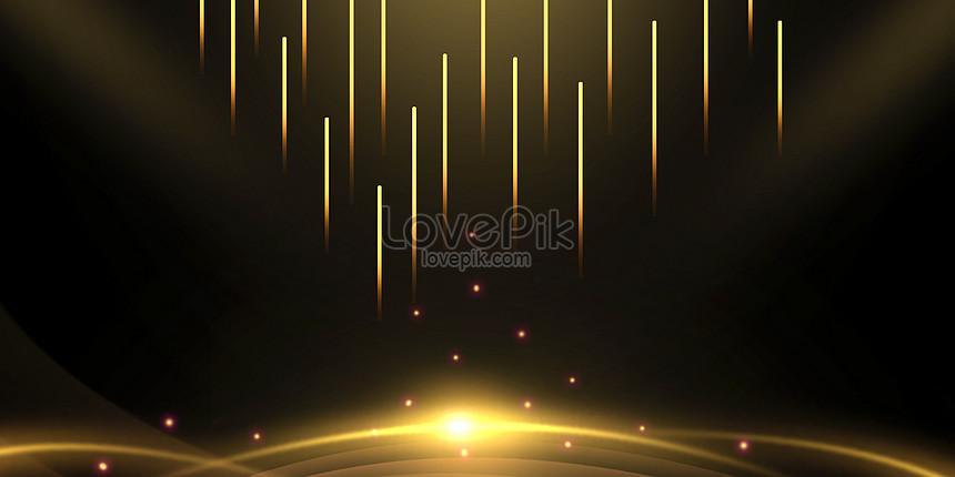 black gold lines background