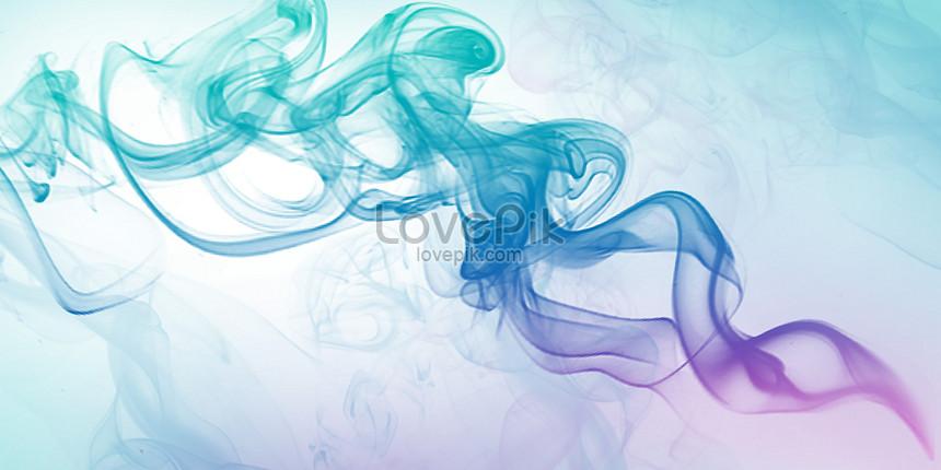 color smoke gradient background