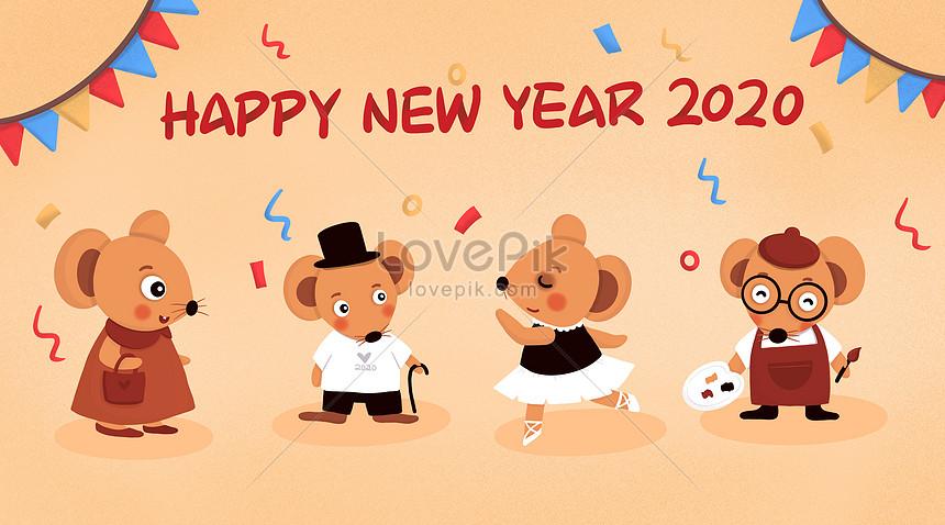 selamat tahun baru rooster 2020