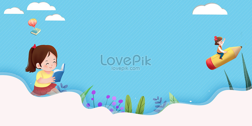 Cartoon Education Background Illustration Image Picture Free Download 401677374 Lovepik Com