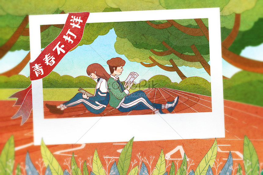 may fourth youth day youth memory illustration