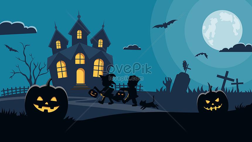 bule de halloween