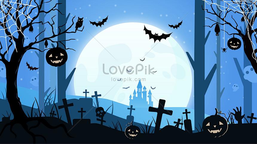 scena di halloween