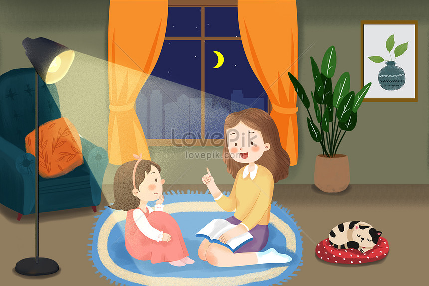 telling stories to children on mothers day